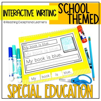 August Interactive Journals for Special Education