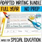 Interactive Writing Notebook Year Long BUNDLE
