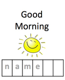 Special Education Morning Work Binder {Editable}