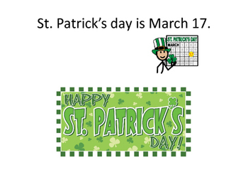 Special Education St. Patrick's Day Unit