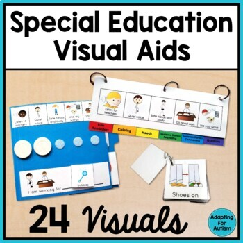 Special Education and Autism Visual Aids: Classroom BUNDLE