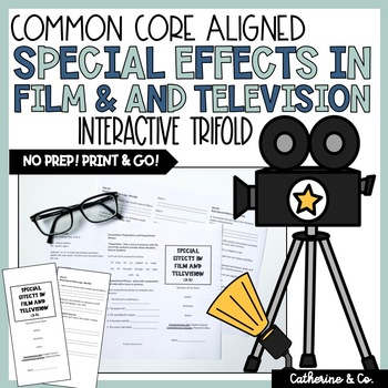 Special Effects in Film and Television Trifold (Reading St
