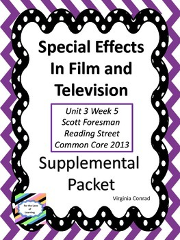 Special Effects in Films & Television-Supplemental Packet-