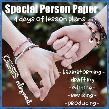 Special Person Paper: A Personal Narrative Writing Project