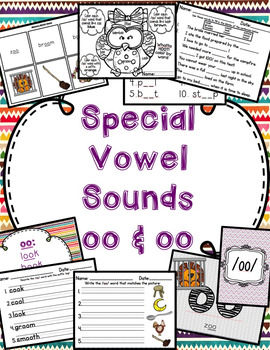 oo Special Vowel Sounds