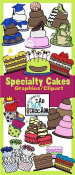 Specialty Cake Graphics / Clipart