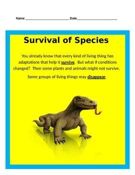 Species UNIT BUNDLE - 4th Grade Science