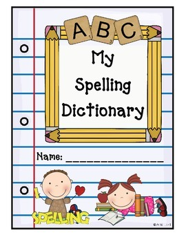 Spectacular Second Grade Spelling Dictionary