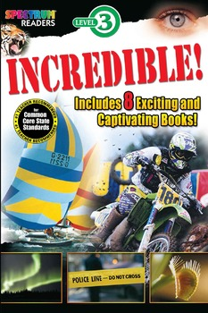 Spectrum Reader Incredible! Ages 6-8 704345