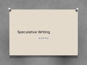 Speculative Writing Powerpoint Presentation