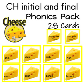 CH initial and final 28 Reading Center Cards