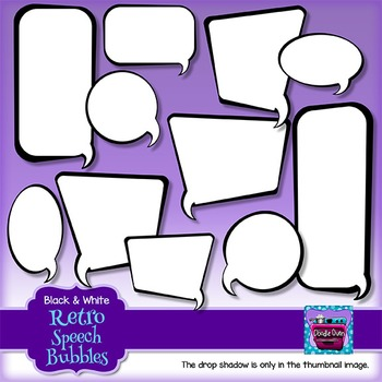 Speech Bubble Clipart