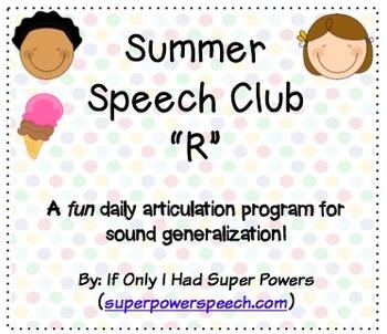 "Speech Club ""R"" (Summer)"