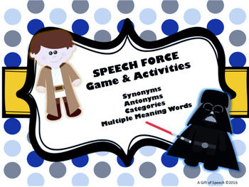 Speech Force: synonyms, antonyms, categories, & multiple meaning