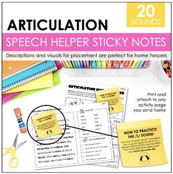 Speech Helper Strips