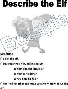 Speech Homework Packet: Winter/Holidays
