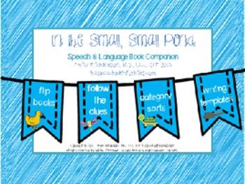 Speech & Language Book Companion: In the Small, Small Pond