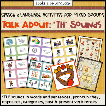 Articulation & Language Games: 70 Picture Cards for 'TH' Sounds