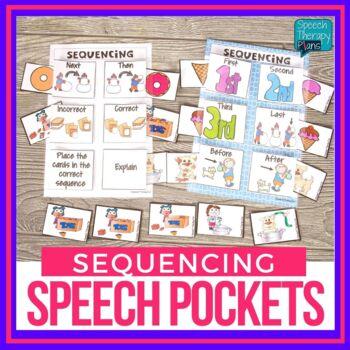 Speech & Language Pockets - Sequencing Edition