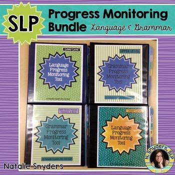 Speech-Language Progress Monitoring Bundle for Grammar & Language