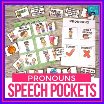 Speech Pockets - Pronouns