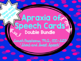 #BestOf2016Sale Apraxia of Speech Cards DOUBLE Bundle