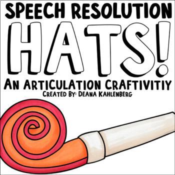 Speech Resolution Hats {2017}