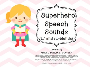 Speech Sound Articulation L and L Blends