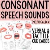 Speech Sound Cue Cards for Articulation/Phonology