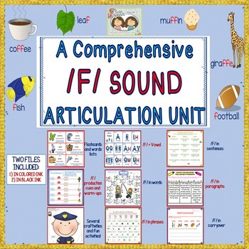 A Comprehensive /F/ Sound Articulation Unit- Sound to Carr