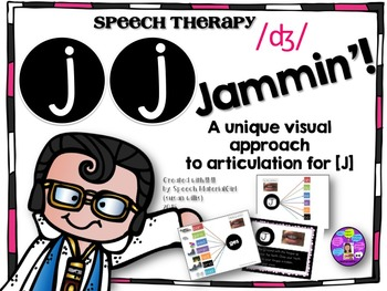 Speech Therapy Articulation [J] /ʤ/ graphic organizer init