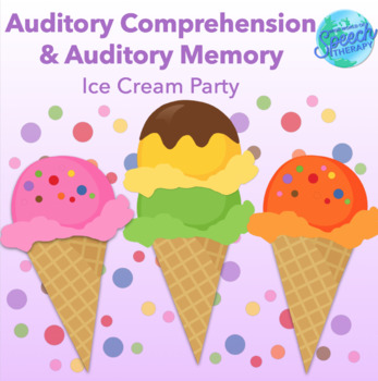 Bilingual Speech Therapy Basic Auditory Comprehension - Ic