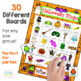 Speech Therapy Bingo Riddles: 5-Holiday Party Pack Bundle