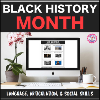 Speech Therapy Black History Month Bundle: Language, Artic