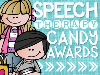 Speech Therapy Candy Awards