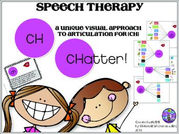 Speech Therapy CH articulation activity graphic organizer