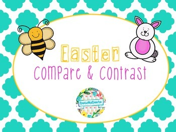 Speech Therapy: Easter Compare and Contrast