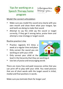 Speech Therapy Hierarchy, Tips and Games Ideas