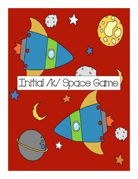 Speech Therapy: Initial /k/ words space game