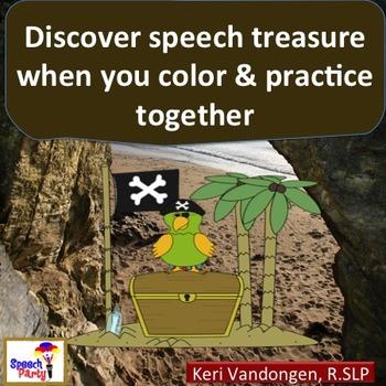 Speech Therapy Practice Printable Activity