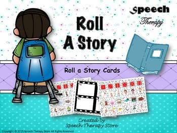 Speech Therapy Roll A Story