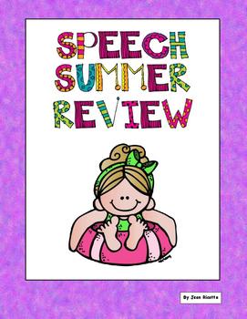 Speech Summer Review