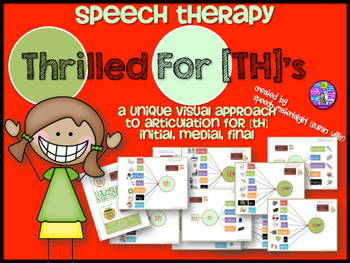 Speech Therapy TH Articulation Graphic Organizers Visual I