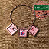 Speech Therapy  Visual Symbol Jewelry for Wh- Questions
