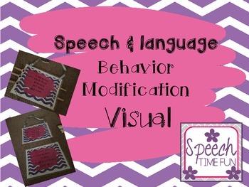Speech and Language Behavior Modification Visual System
