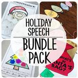Speech and Language {Holiday Bundle}