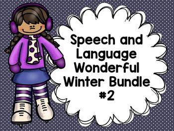 Speech and Language Wonderful Winter Bundle #2