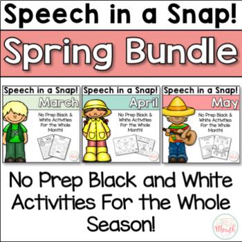 Speech in a Snap Spring Bundle