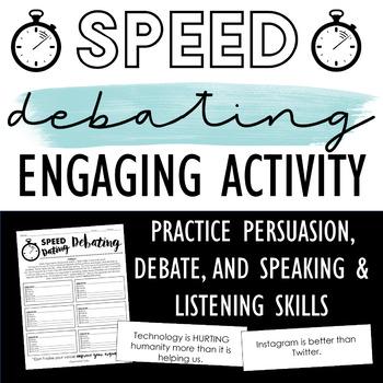 Speed Debating: Engaging Activity to Practice Debate, Etho