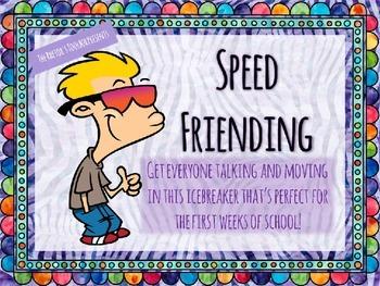 Speed Friending: A Community-Building Activity